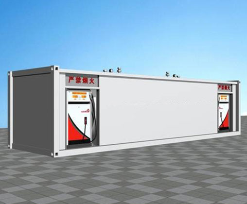 Container filling station